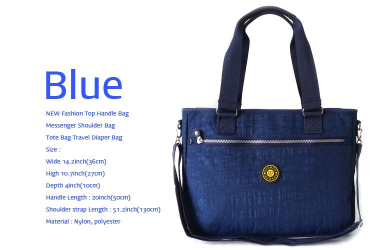 new fashion top handle bag messenger shoulder bag tote bag travel diaper bag. Black Bedroom Furniture Sets. Home Design Ideas